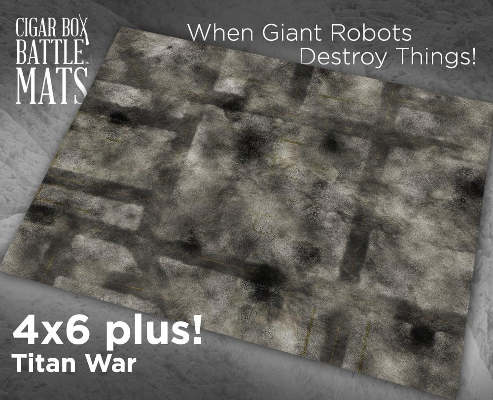 Image of Titan War  -- 4x6plus -- #800