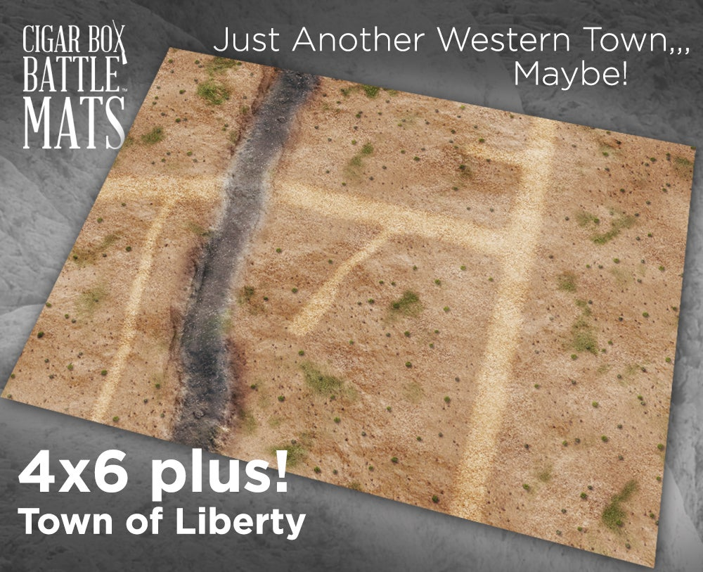 Image of Town of Liberty  -- 4x6plus -- #840