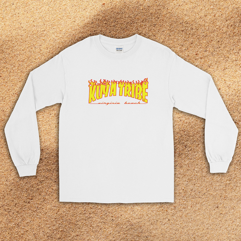 Kuya Tribe Virginia Beach Long Sleeve T