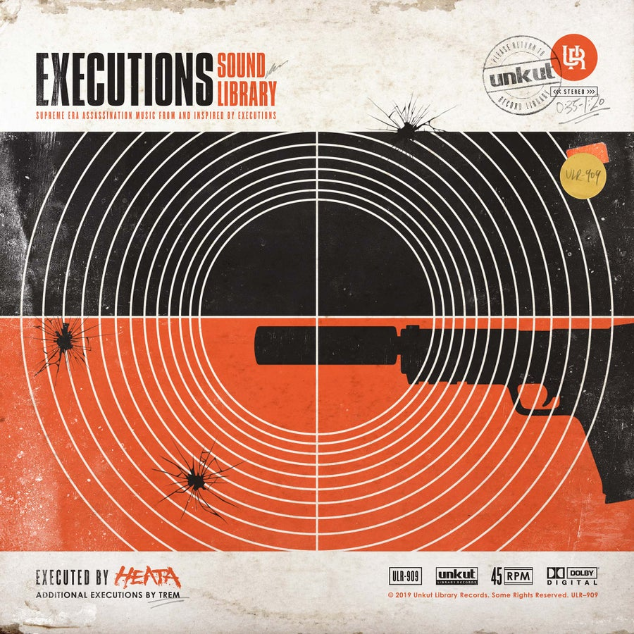 """Image of EXECUTIONS SOUND LIBRARY 7"""""""