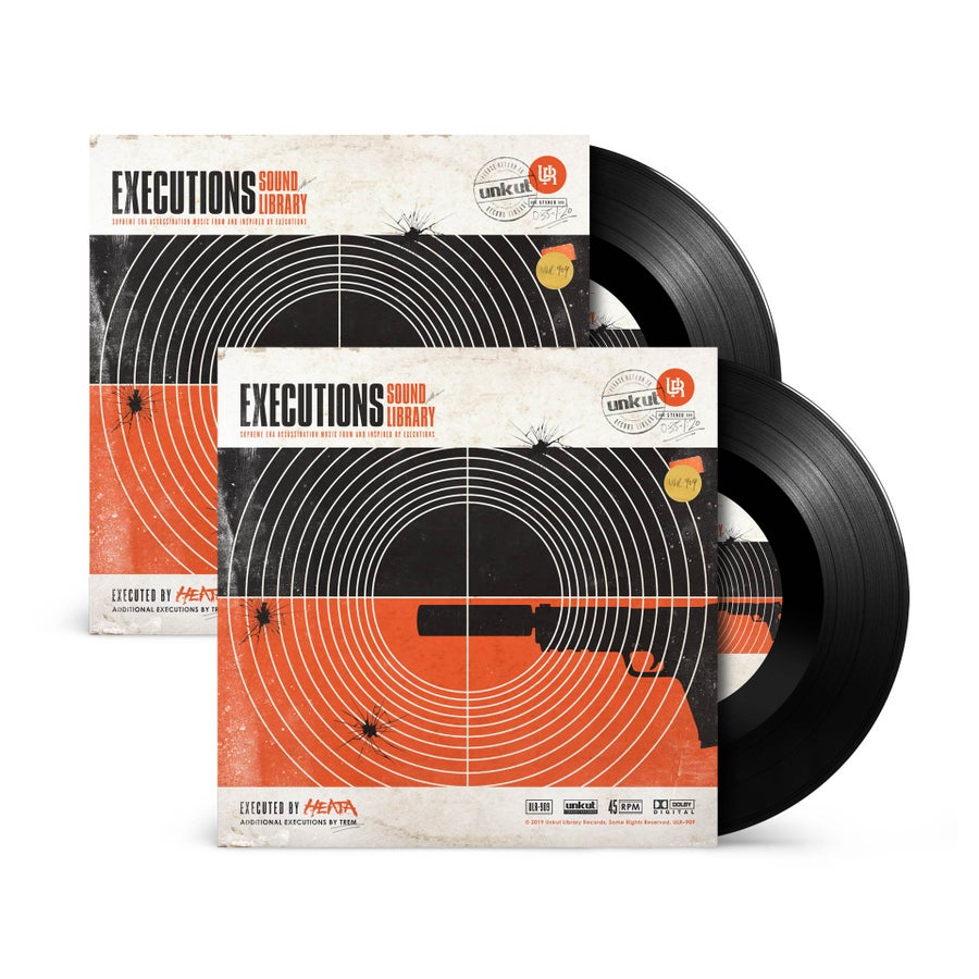 """Image of EXECUTIONS SOUND LIBRARY 7"""" x 2 - DJ DOUBLE PACK"""