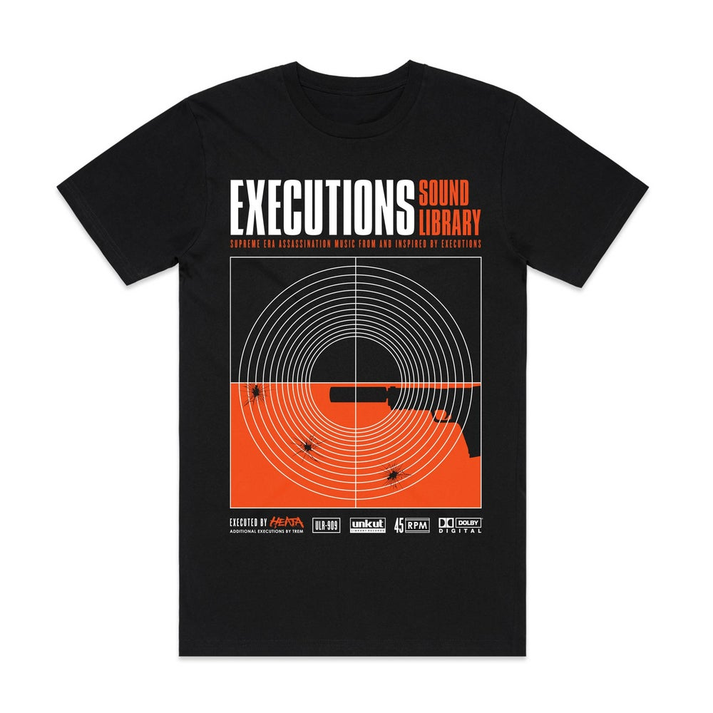 Image of EXECUTIONS SOUND LIBRARY T-SHIRT