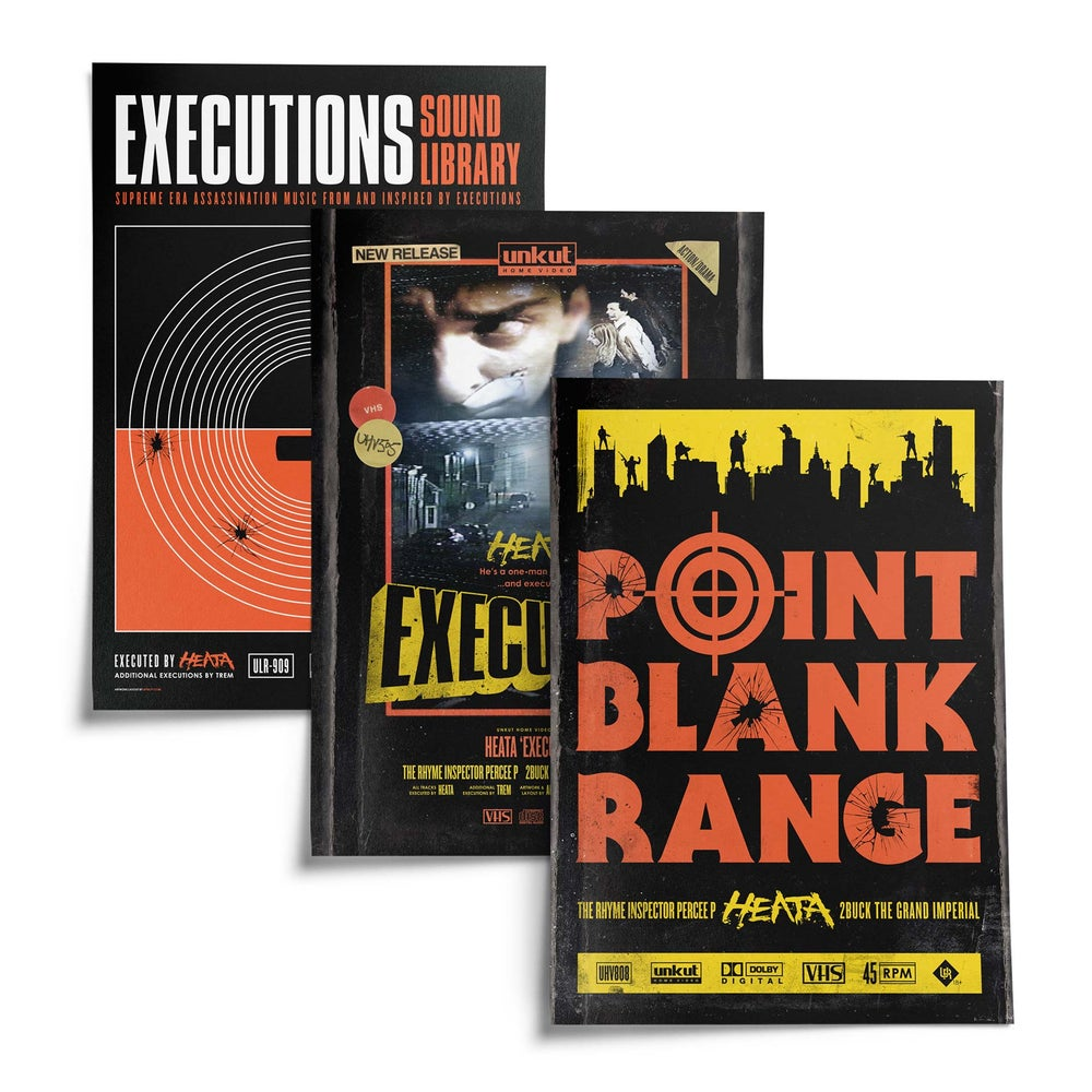Image of EXECUTIONS Limited Cinematic Poster Pack