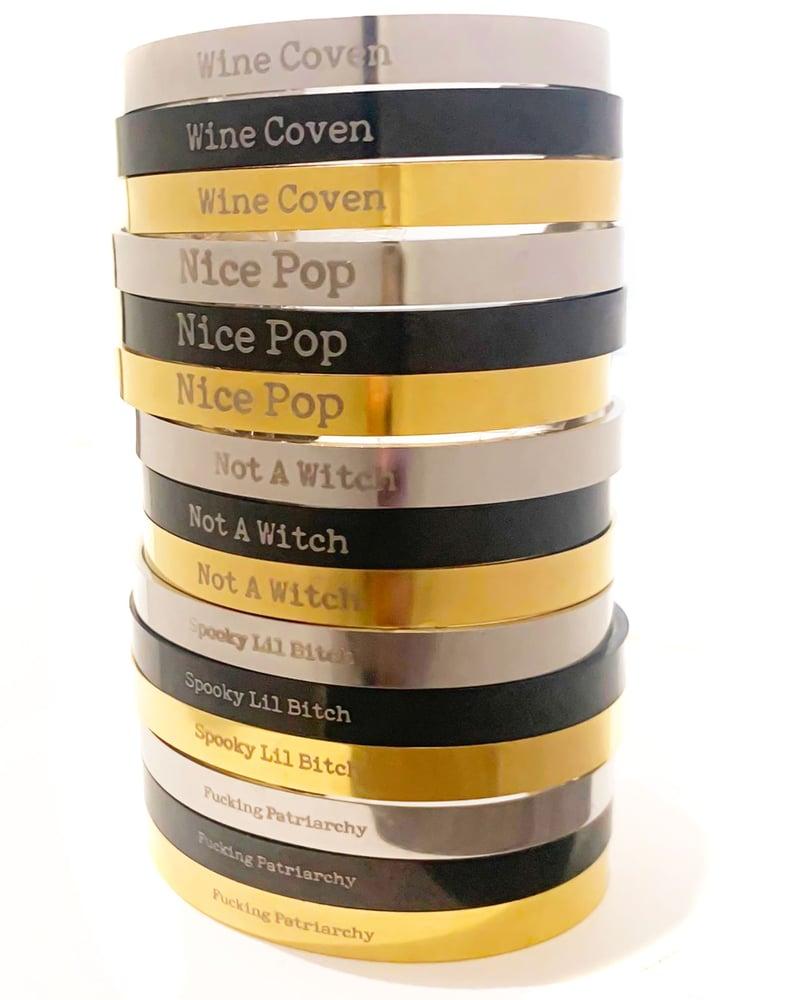 Image of (NEW) Catchphrase Bracelet