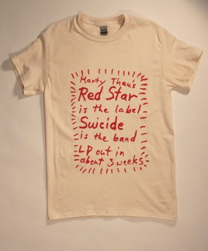 Image of SUICIDE SHIRT  ** CLUB A KITCHEN BENEFIT **