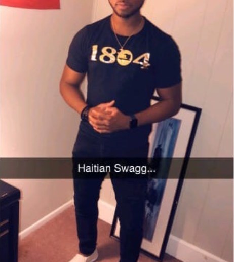 Image of 1804 BLACK AND GOLD SHIRT