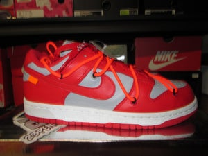 "Image of Nike Dunk Low x OFF-WHITE ""University Red"""