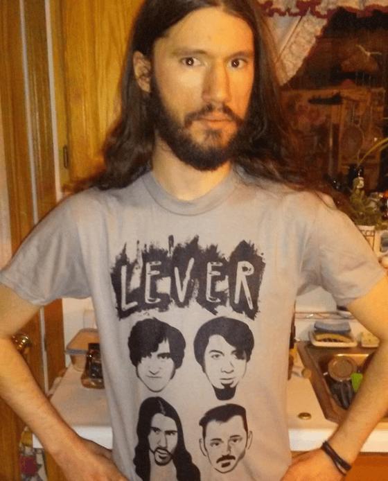 """Image of Lever - """"Faces"""" Shirt (S, M, L) - Unisex"""