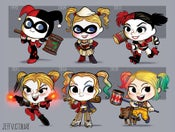 Image of Evolution of Harley Quinn