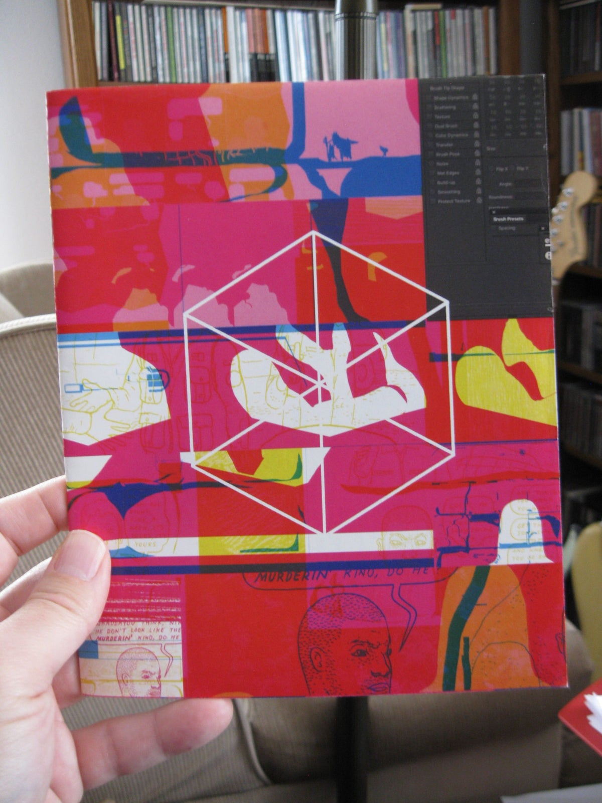 Image of Tongues #2 Process Zine by Anders Nilsen