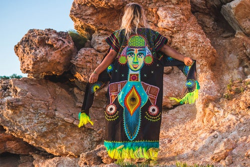 Image of Cosmic Angel Poncho