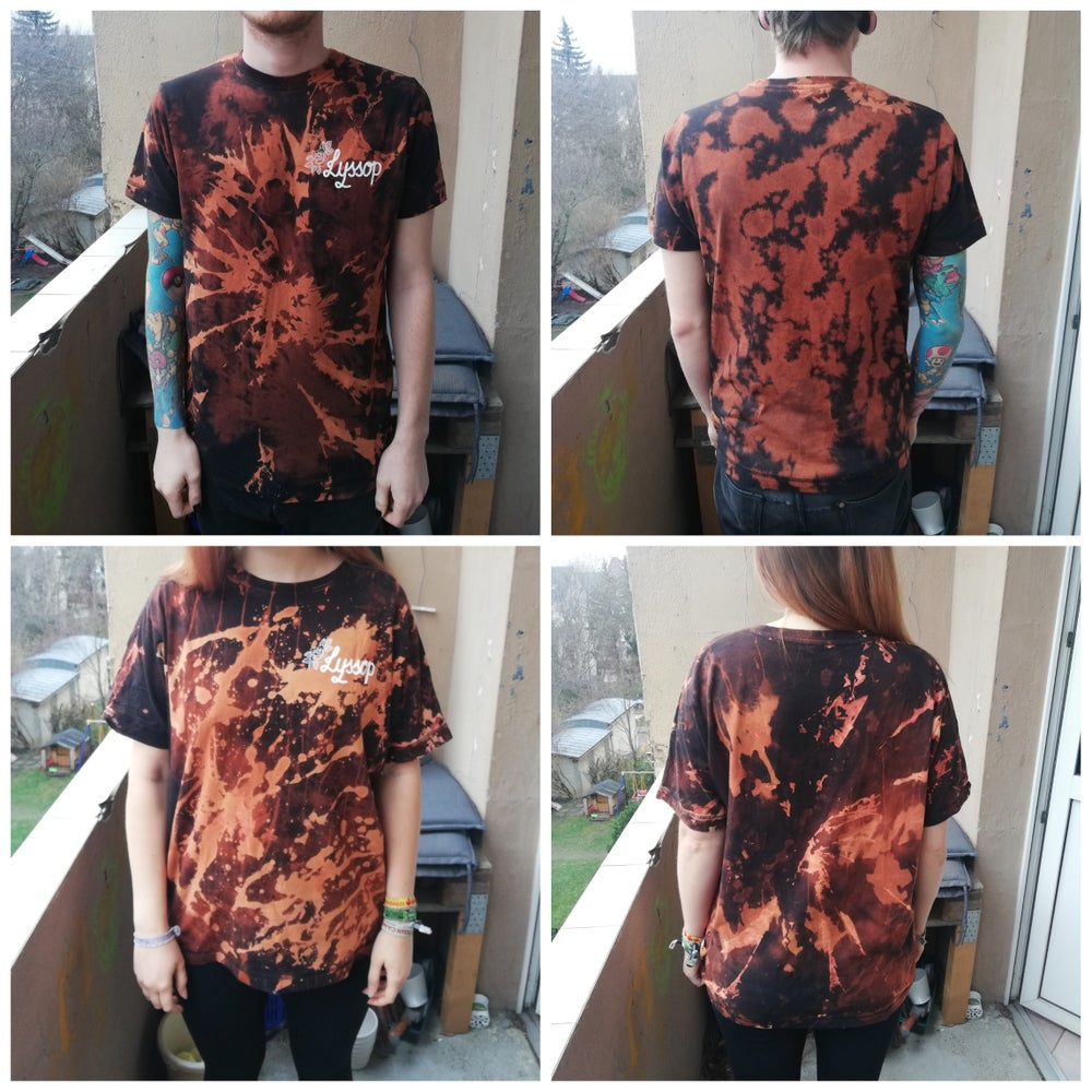 "Image of T-SHIRT ""LOGO"" BLEACHED"