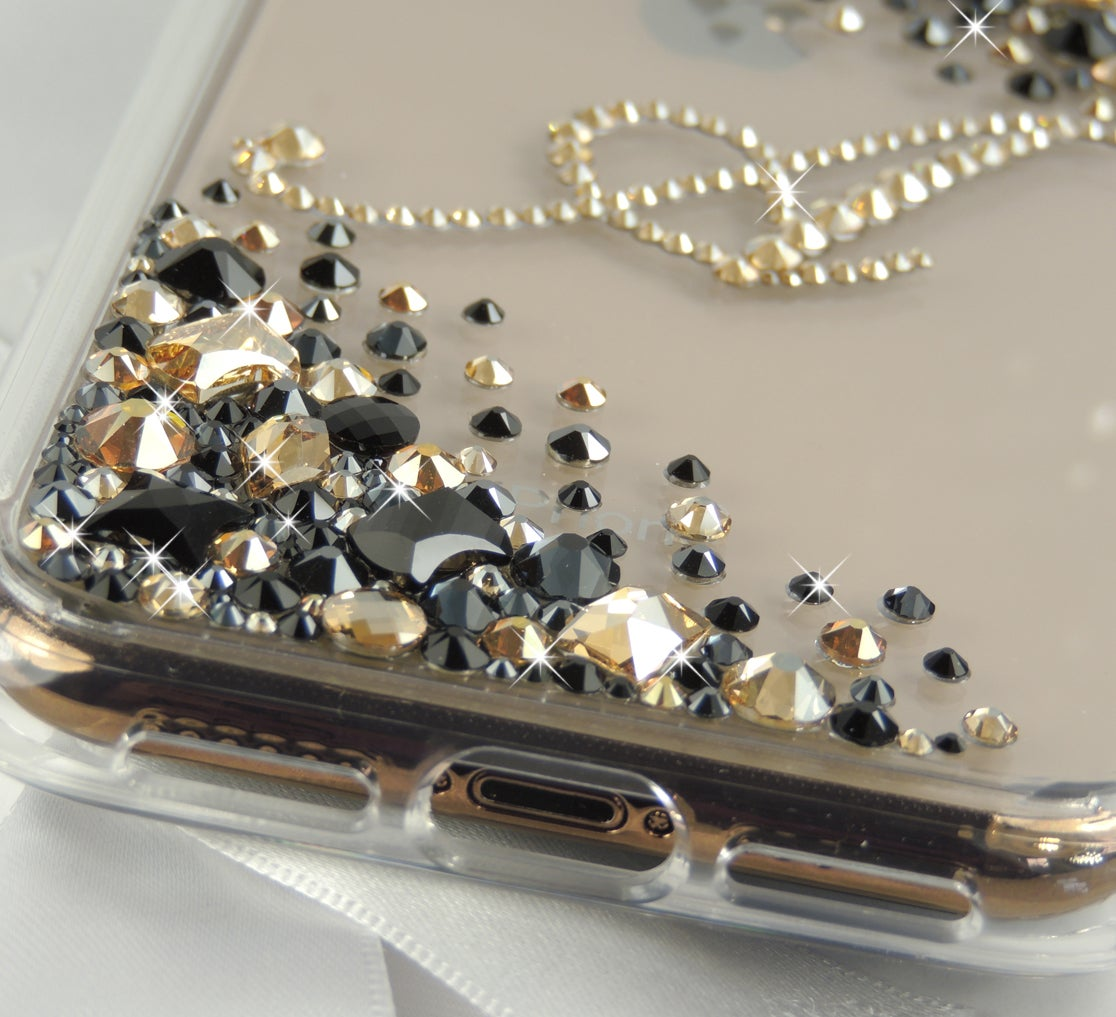 Image of Cascade Gold & Black Jewel