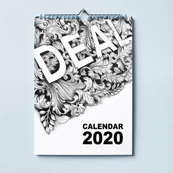 Image of The Deal Town Illustrations Calendar 2020