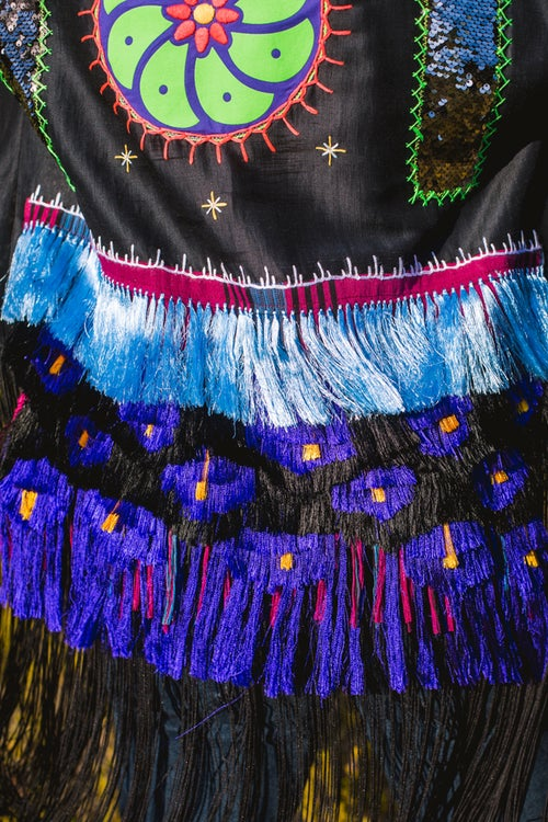 Image of Purple Peyote Kimono