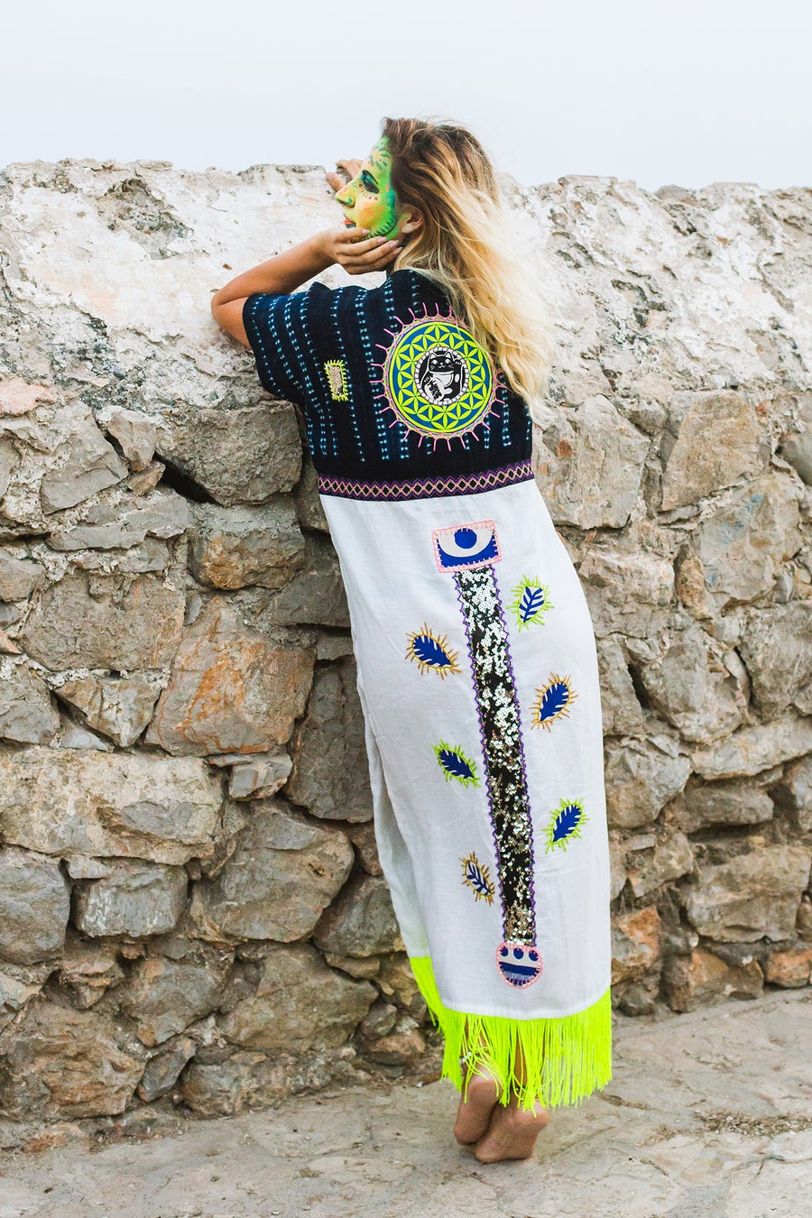 Image of Tree Totem Poncho