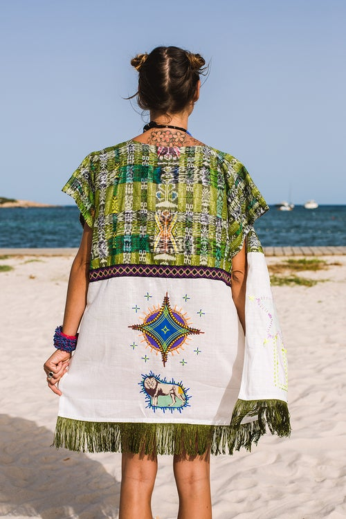 Image of Green Lyon Poncho