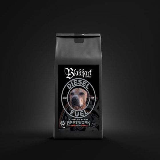 "Image of BLAKHART COFFEE™️ ""DIESEL FUEL"" LIGHT ROAST GROUND"