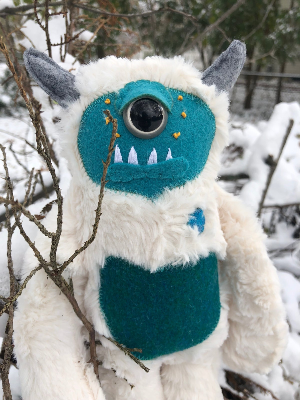 Image of Uler the Snow Monster