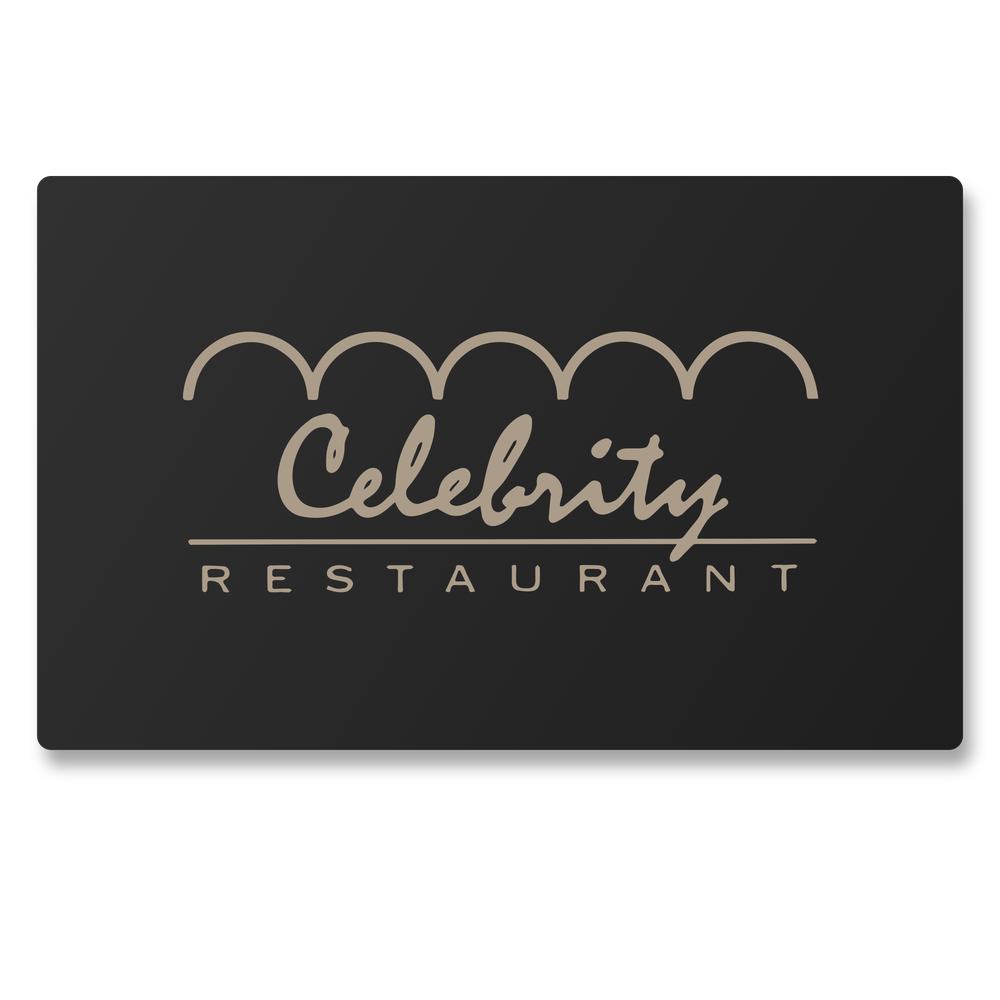 Image of Celebrity Club Gift Card
