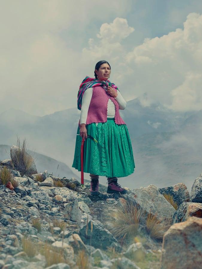 Image of  Cholitas Escaladoras - Cecilia Llusco Alaña