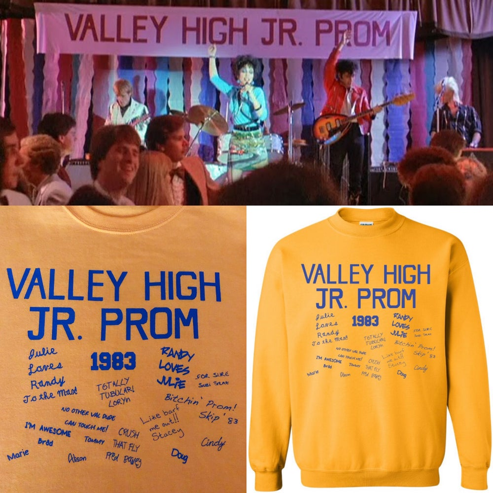 Image of Valley High Jr. Prom sweatshirt