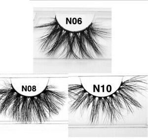 Image of 25mm Faux Mink Wispy lashes