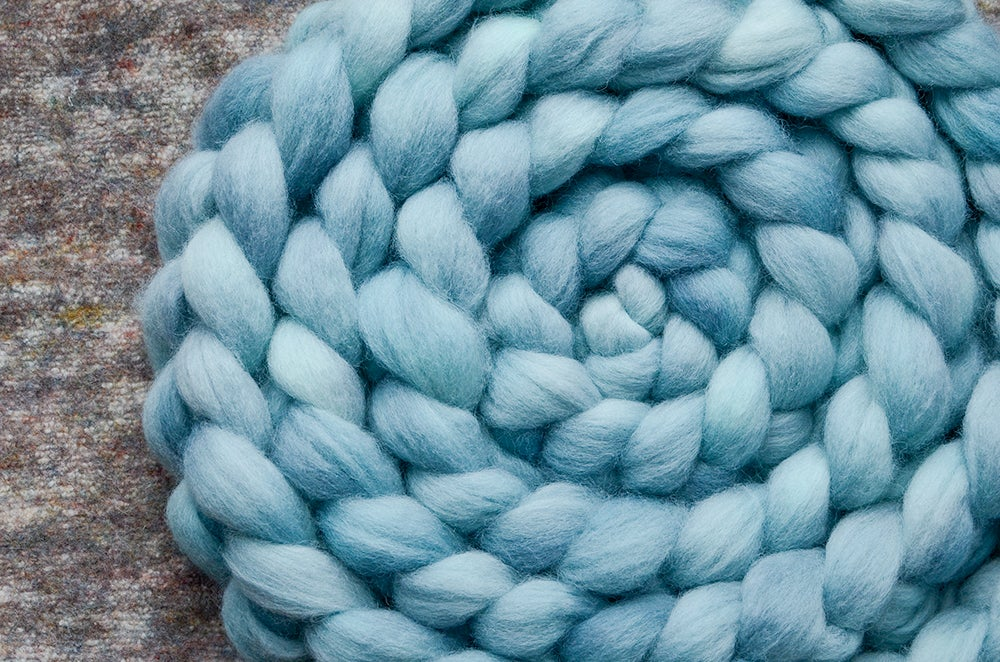 """Image of """"Shallows"""" December Fiber Club Coordinates- PRE-ORDER - OPEN TO ALL - 4 oz."""