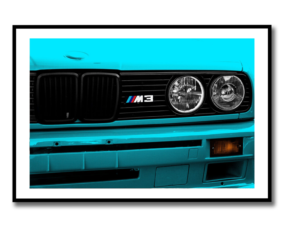 Image of E30 Pop Art Print