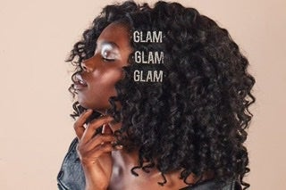 "Image of ""GLAM"" hair accessories"
