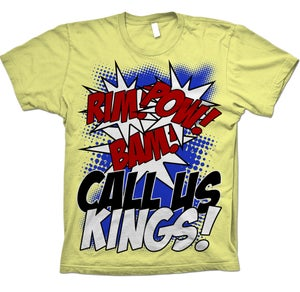 "Image of Call Us Kings ""Batman Sounds"" Tee"