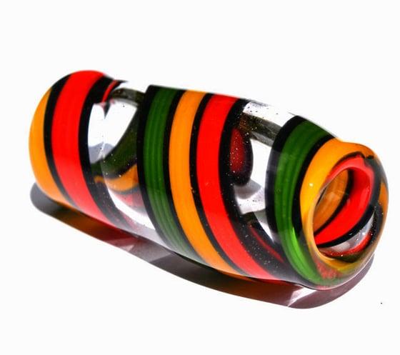 Image of Rasta Stripe Dread Bead