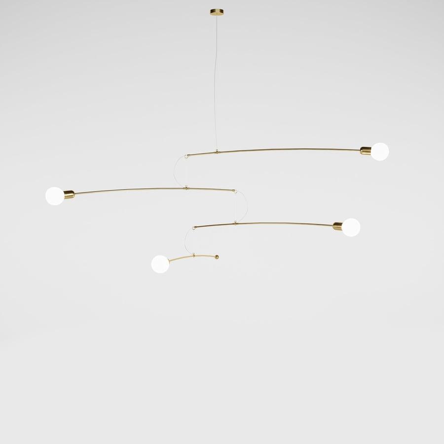Image of Notos gold brass medium expo model