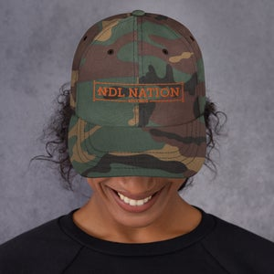 "Image of ""NDL Nation Records"" Camo Hat"