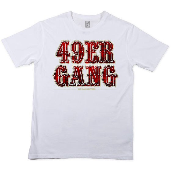 Image of 49ER GANG TEE (white)