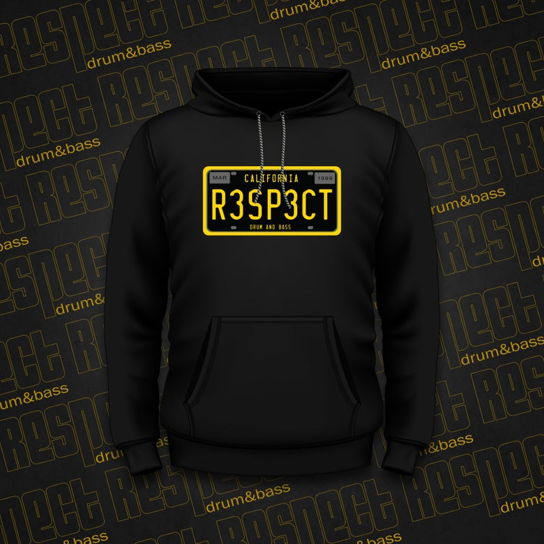 Image of RESPECT Men's CA Legacy PLATE Hoodie