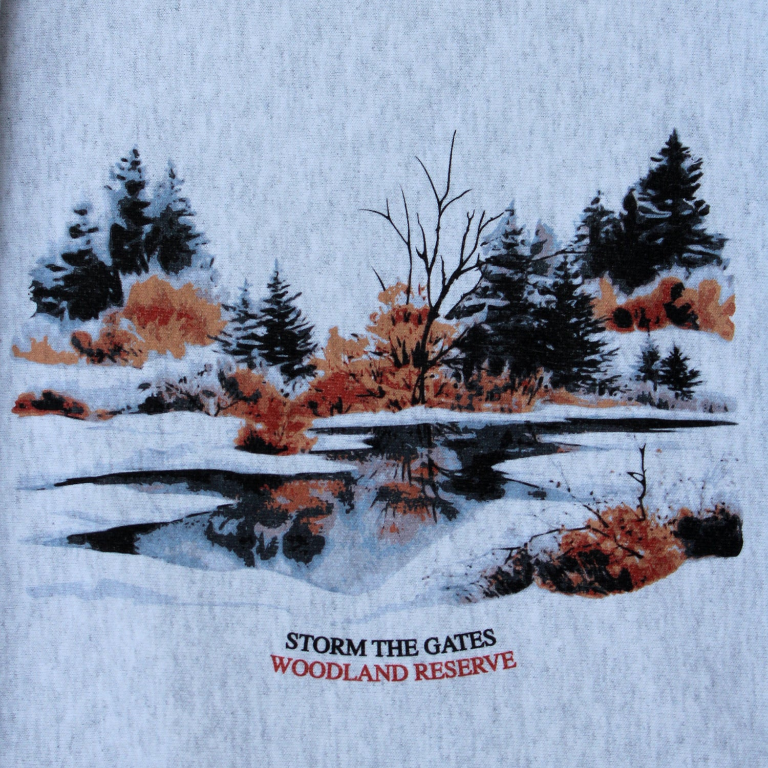 Image of **PRE-ORDER** WOODLAND RESERVE CREWNECK SWEATSHIRT (CHAMPION® REVERSE WEAVE)