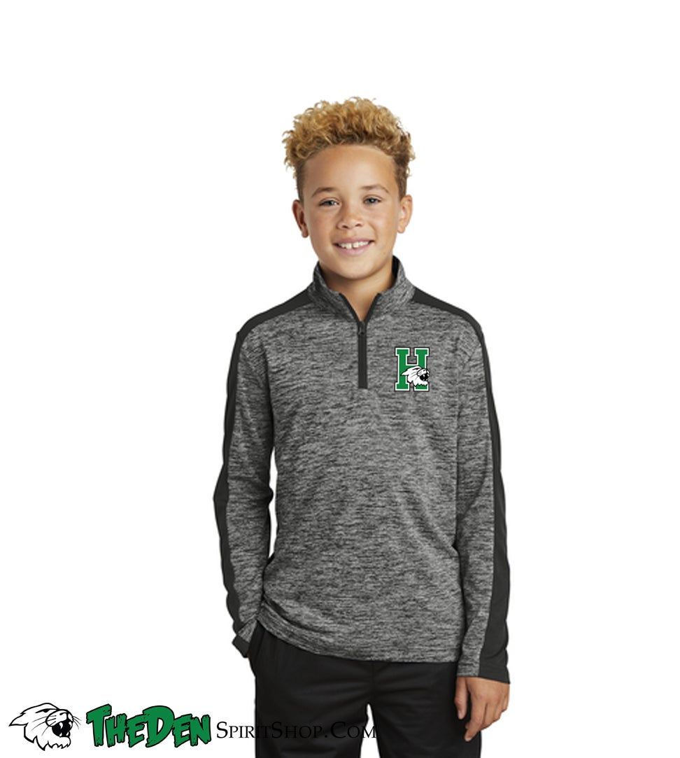 Image of YOUTH 1/4 Zip Performance Longsleeve
