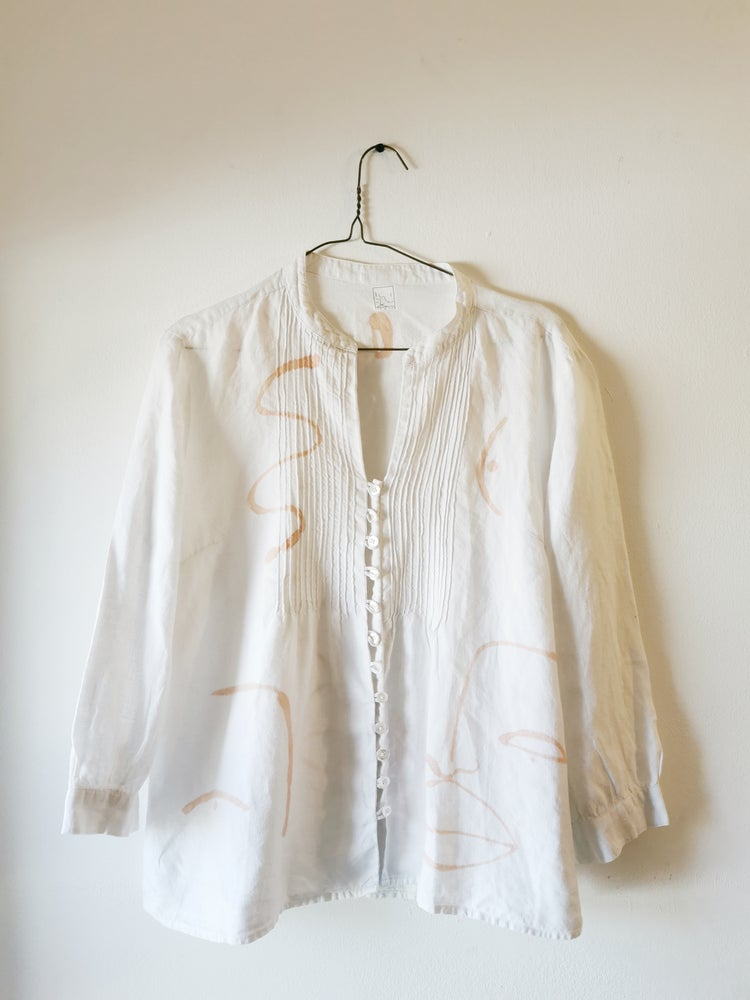 Image of lines love blouse