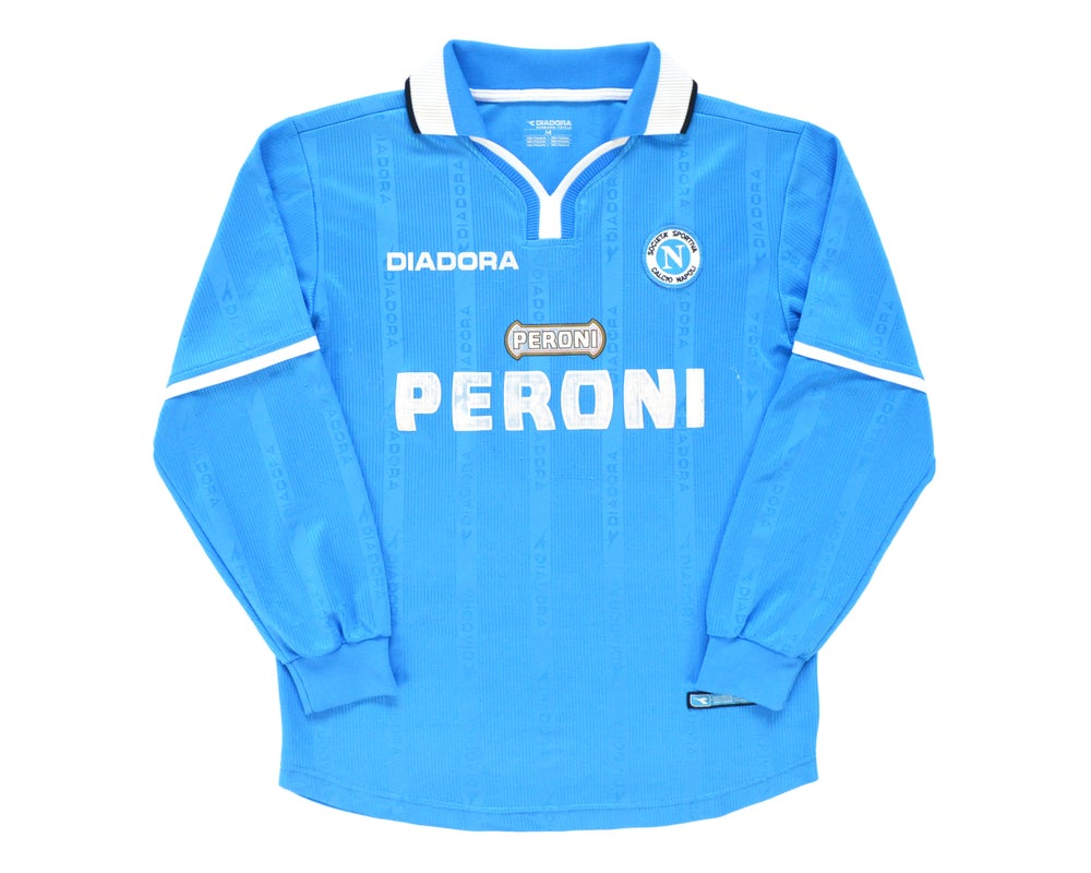 Image of 2000-01 Diadora Napoli Home Shirt M