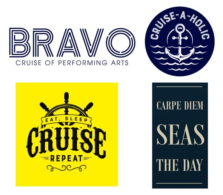 Image of BRAVO Cruise of Performing Arts Sticker Pack