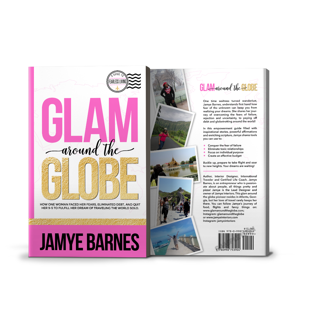 Image of Glam Around The Globe Book