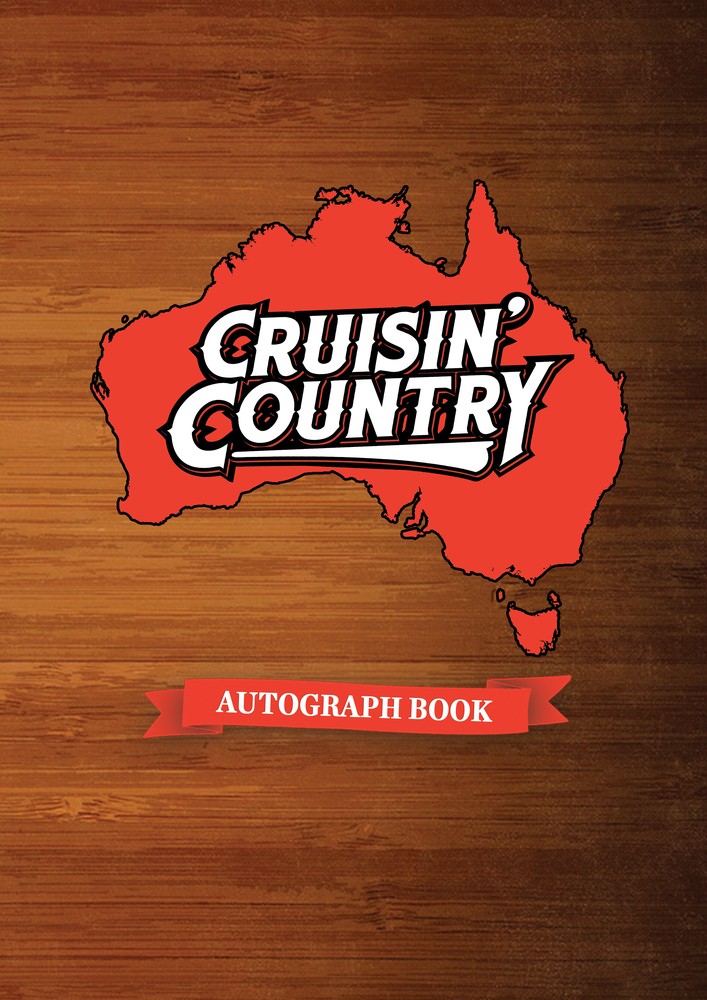 Image of Cruisin' Country Autograph Book - Australian Design