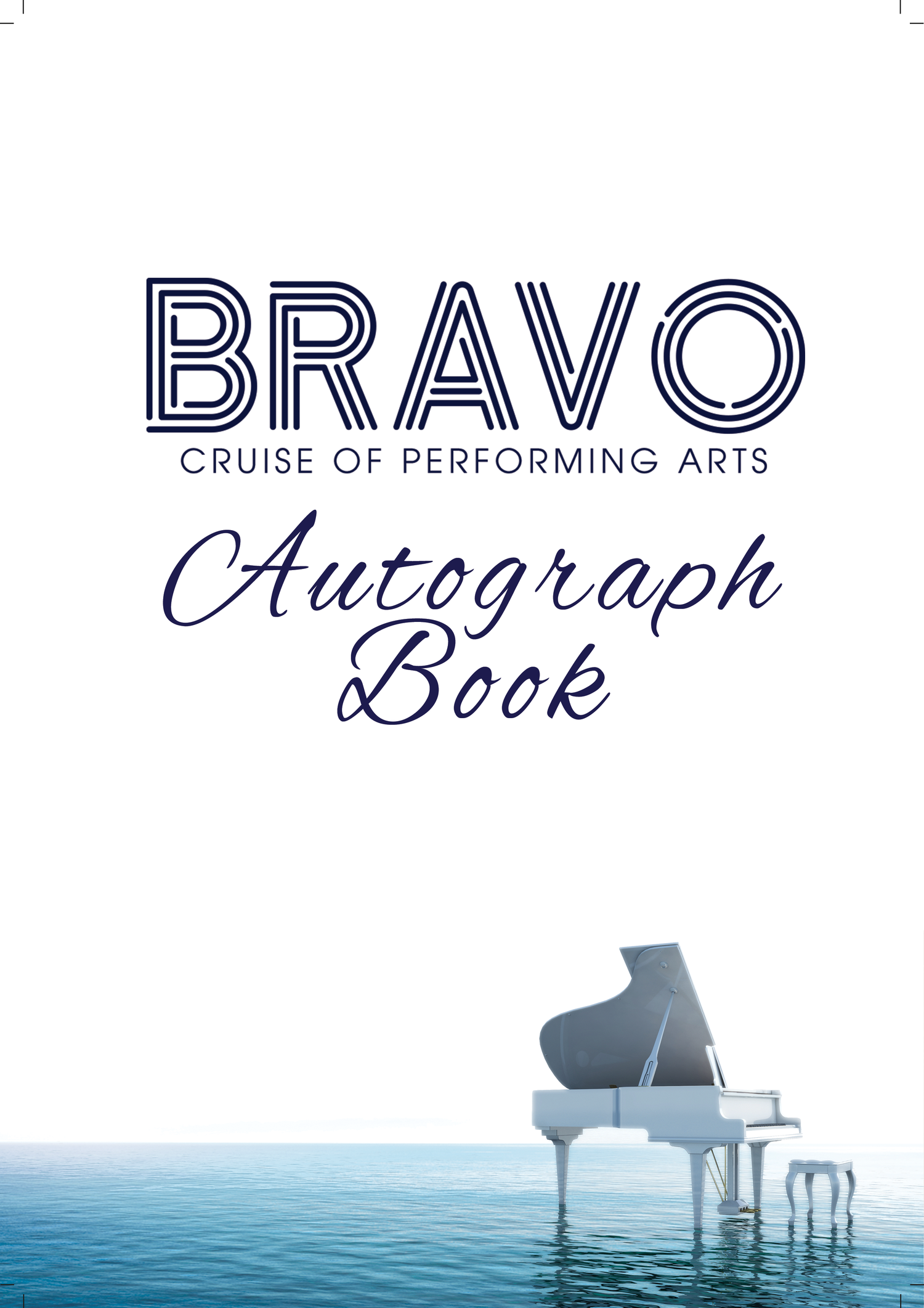 Image of BRAVO Autograph Book