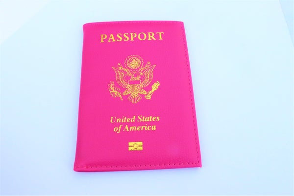 Image of Portugal Pink Passport Cover