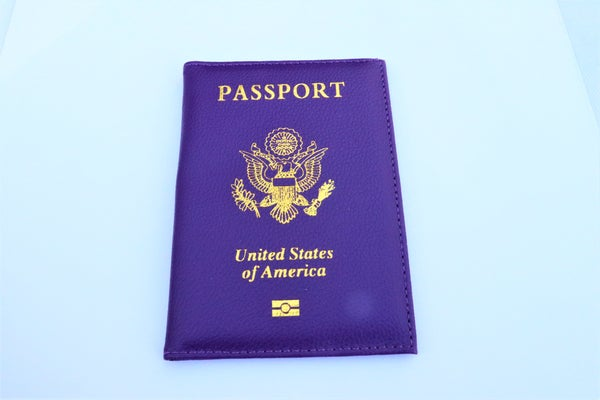 Image of Panama Purple Passport Holder
