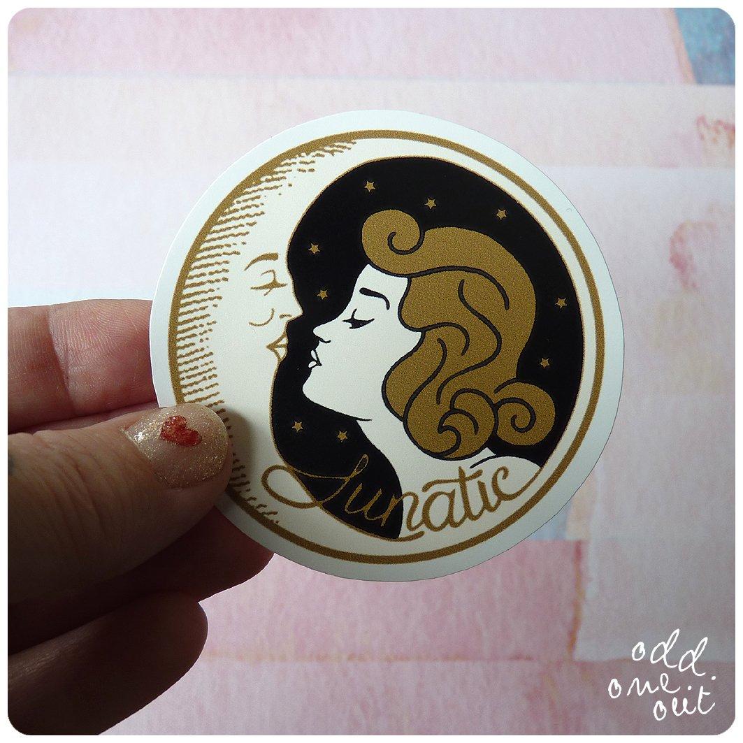 Image of Lunatic - Vinyl Sticker
