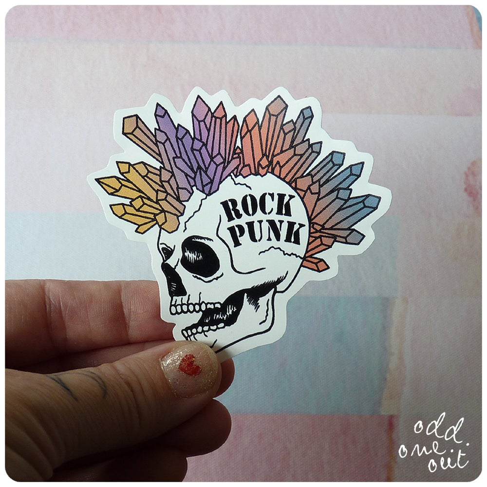 Image of Rock Punk - Vinyl Sticker