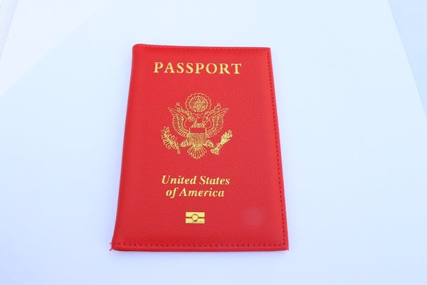 Image of Colombia Crimson Passport Holder