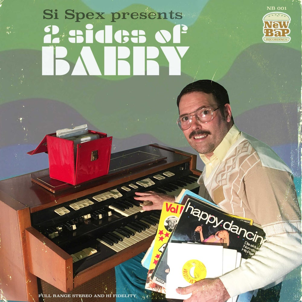 Image of SI SPEX PRESENTS 2 SIDES OF BARRY (PRE ORDER) LIMITED EDITION